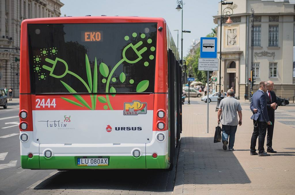 Electromobility projects in the city of Lublin